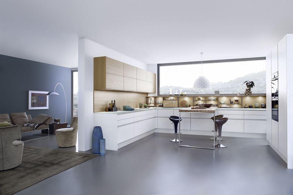 Contour Kitchens Cheltenham - Living kitchen