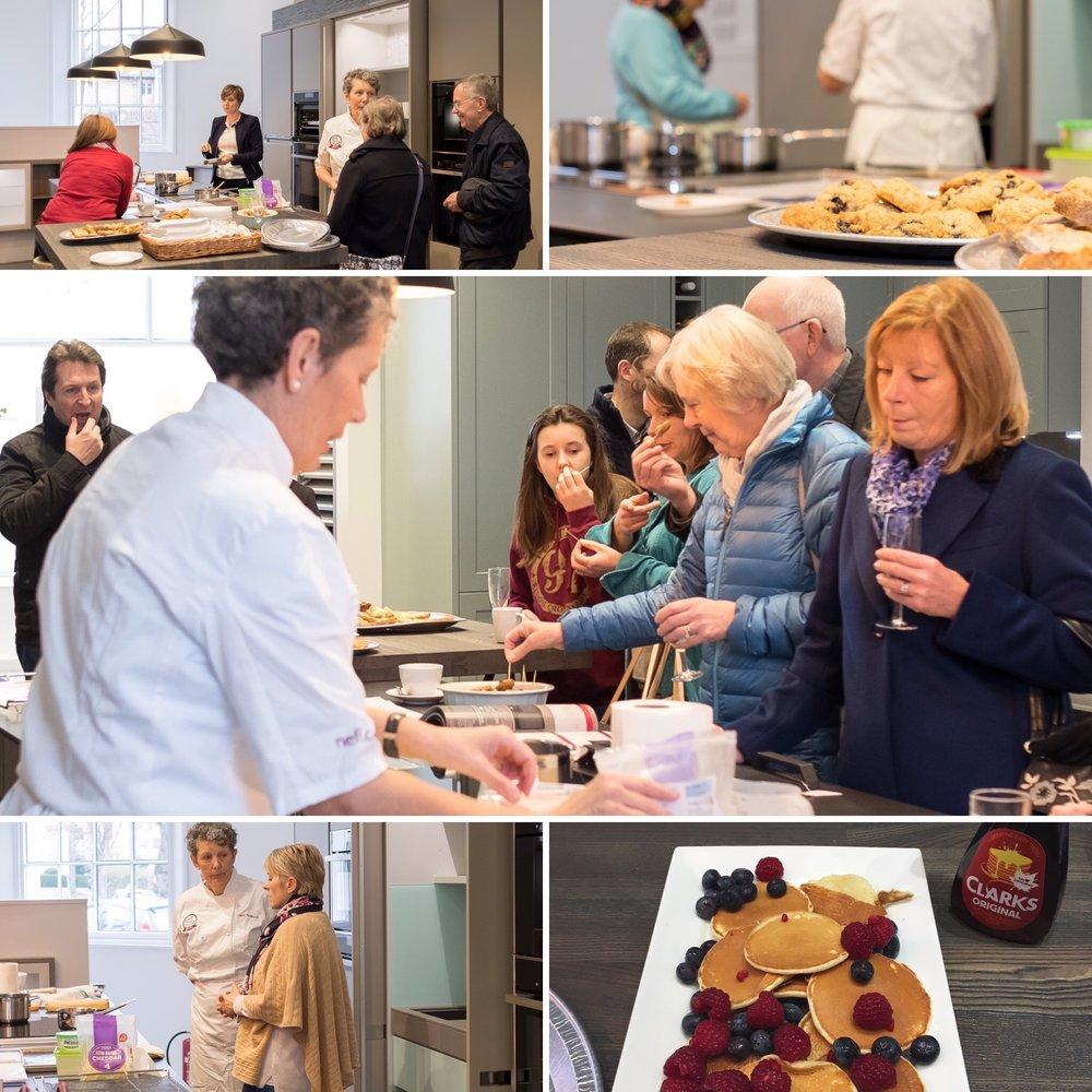 kitchens cheltenham Neff cookery demonstration