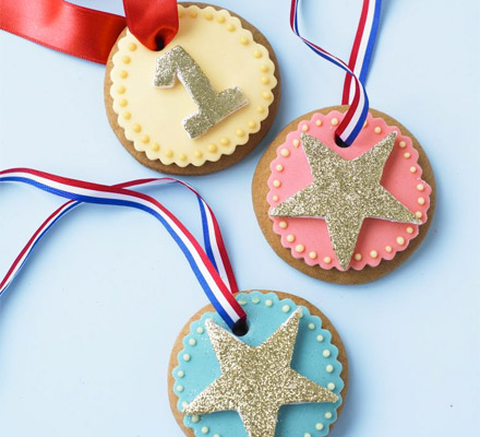 No 1 Dad - Medal cookies