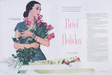 Magazine Illustration 1949 (actual use)