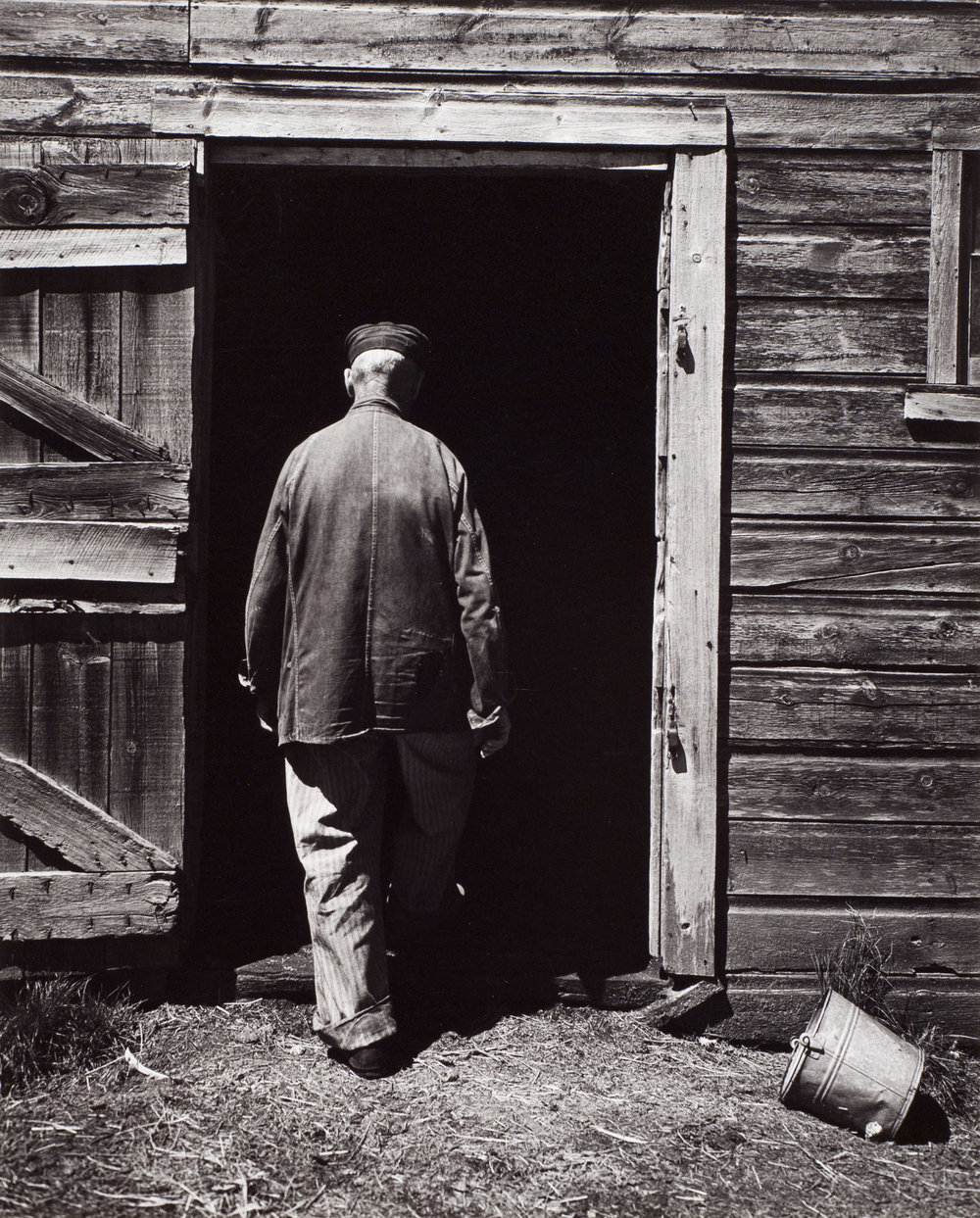 Wright Morris Uncle Harry Entering the Barn.jpg