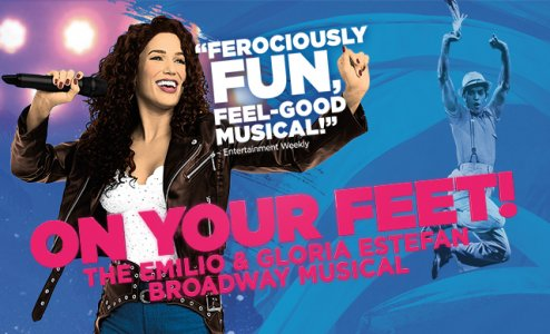 """Dallas Summer Musicals presents  - """"On Your Feet! The Story of Emilio & Gloria Estefan""""February 27th-March 11th, Music Hall at Fair Park"""