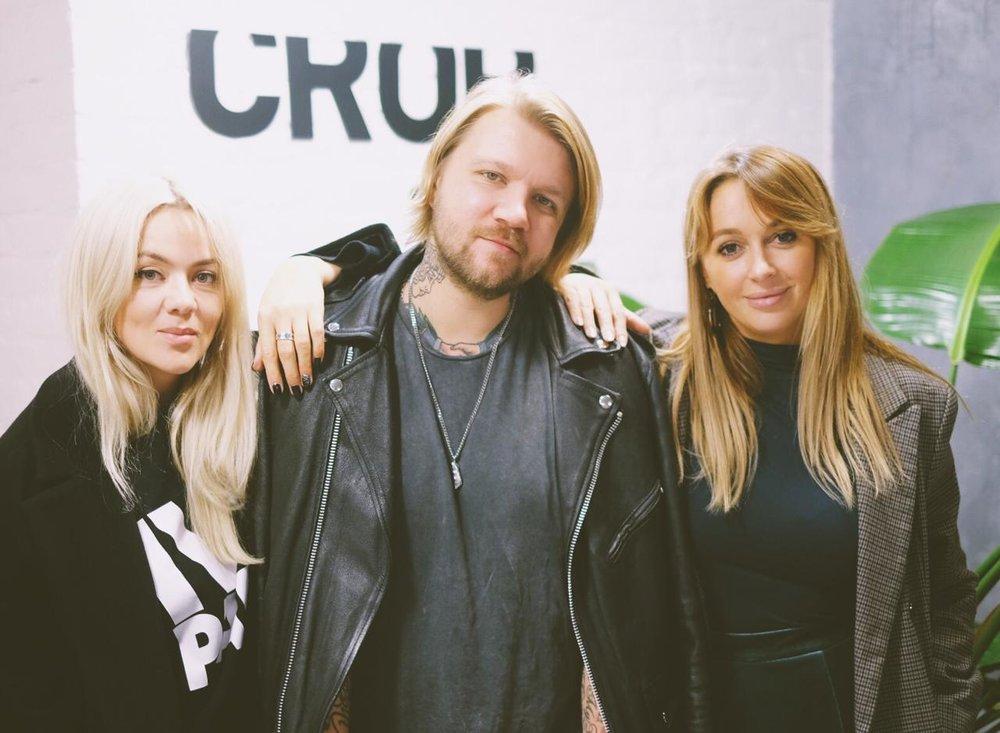 Photo work-shop  Милы Беловой . На фото: Мила Белова, Андрей Ромашов, Илона Янайтис.