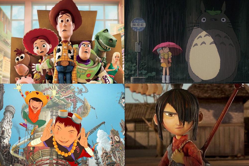 ผลงาน Character Animation จากStudio Ghibli , Pixar Studio , Studio 4°c และ Laika