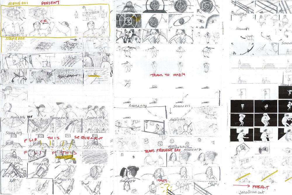 ภาพStoryboard ของJennifer Zhang