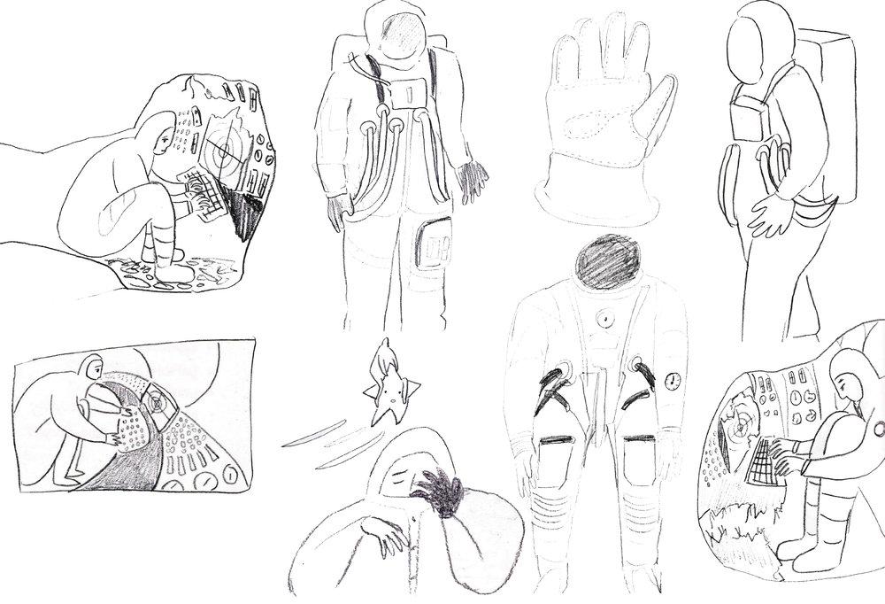 ภาพCharacter Design ของKaty Wang
