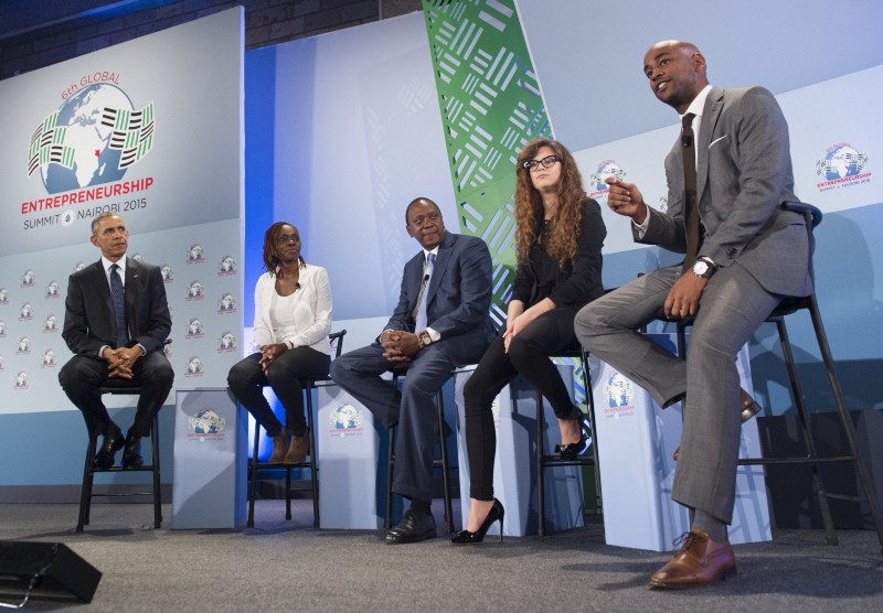 Last year, I had the opportunity to attend the Global Entrepreneurship Summit in Kenya, and I shared a stage with President Obama. It was a great honor, and it was thanks to the social enterprise I founded, Hello Tractor.