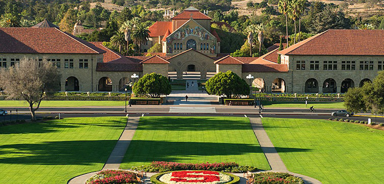 The Campus of Stanford University. (Stanford University Photo)