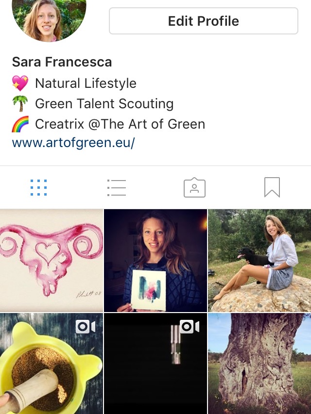 Follow my Instagram feed  - (@artofgreen)Enjoy Natural Lifestyle tidbits & ideasTo live as nature intendedfor your Health & Happiness!