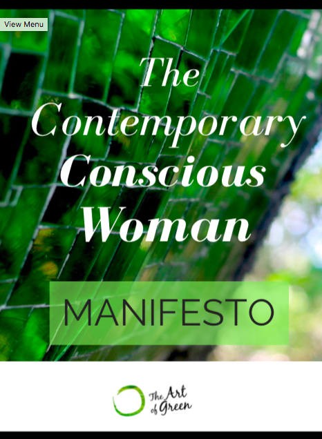 The Contemporary Conscious Woman Manifesto by The Art of Green Sara Francesca Life Coach.png