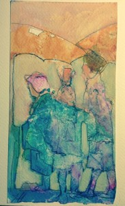 Little Betty's Mac Ladies Lesley Humphrey watercolor 2014