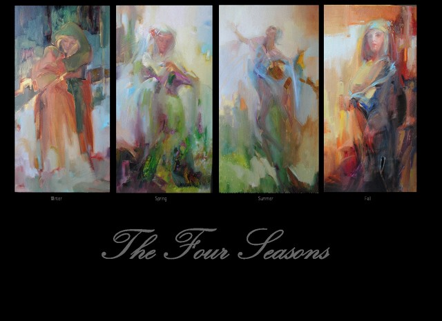 The Four Seasons by Lesley Humphrey (copyrighted image)
