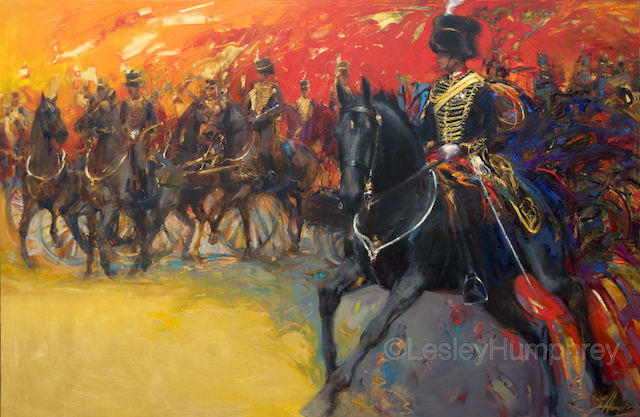 "MAX CHENERY & WILLIAM 72"" x 48"" - oil on canvas"