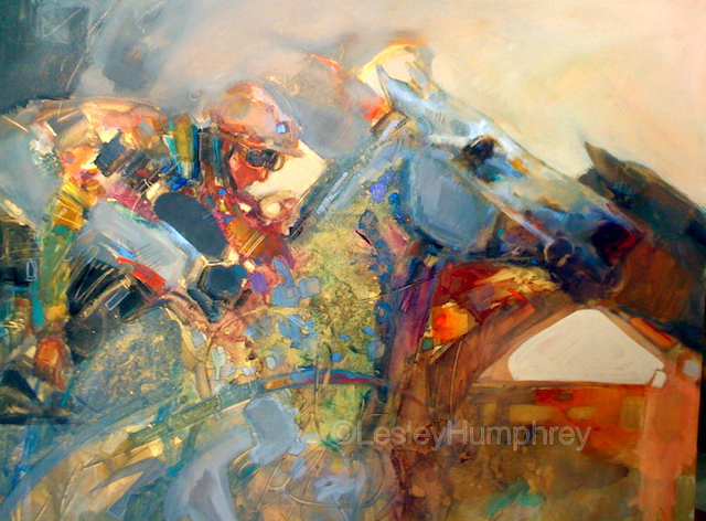 "UNBRIDLED SPIRIT-WATERCOLOUR 28"" x 20"" - watercolour/gouache on hot-pressed watercolour board"