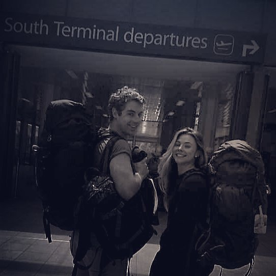 One year ago today -having recently quit our city jobs- we packed our bags for the first time and boarded our one way flight to begin our nine month journey from Alaska to Argentina. Our purpose? To find and share the stories of people using business as a force for good. AND to see if we could purposefully carve ourselves new lives that we had chosen consciously to reflect our values. We met and interviewed over 80 inspirational entrepreneurs, mentors, and investors, and made a hundred new friends. We climbed mountains in Canada, active volcanoes in Guatemala, spent weeks as surfing cowboys in Nicaragua, danced on tables in Colombia, and crossed deserts in South America. We ate a million mexican tacos, the biggest pizzas we've ever seen and the best wine we've ever tasted. It hasn't always been easy, and at times it was extremely hard! But, through the laughter, tears, and scary moments, it's been one hell of an adventure!! 👊🌎⛺📷🏄🌋🌵🌴🐳🍻🌊