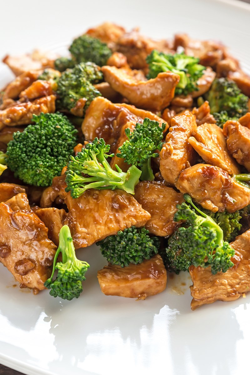 Chicken Teriyaki w/ Steamed Veggies