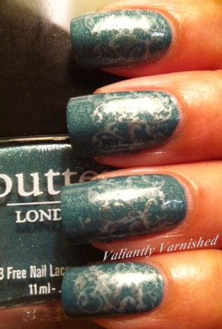 Butter London Victoriana and Urban Decay White Widow- ABC Challenge U,V,W