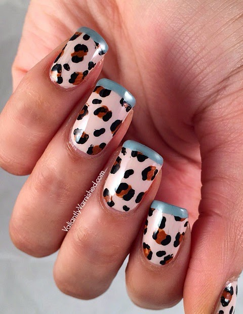 Inspired By Fashion Charlotte Olympia Day 2 Leopard Print Nail