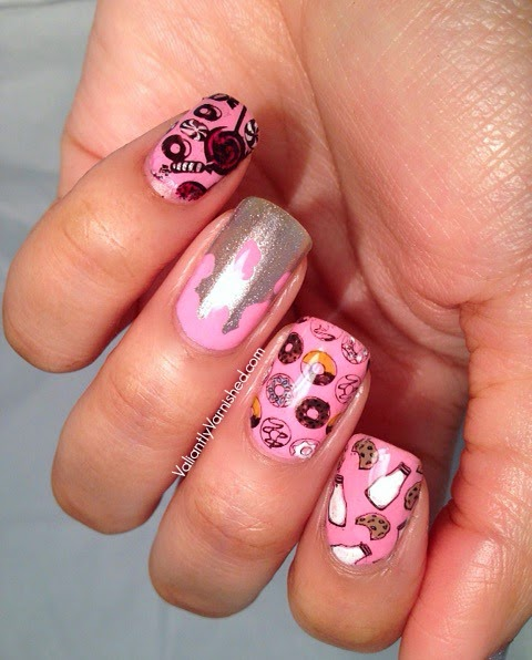 The Nail Art Guild Seven Deadly Sins Gluttony Valiantly Varnished