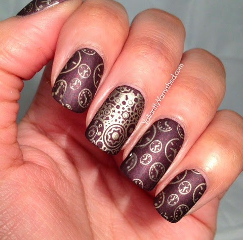 Ticker By Lisa Mantchev Book Review And Nail Art Valiantly Varnished