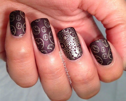 Ticker by lisa mantchev book review and nail art valiantly varnished ticker nail art pic2g prinsesfo Images
