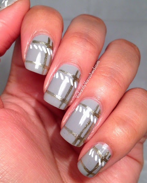 Minimalist plaid nail art valiantly varnished minimalist plaid nail art pic1g prinsesfo Choice Image