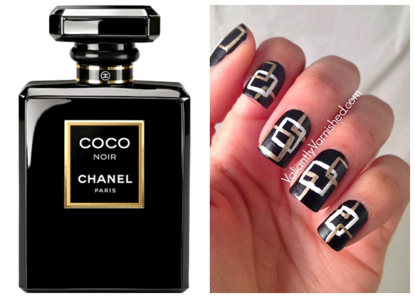 Artsy Wednesday And Inspired By Perfume Week Chanel Coco Noir