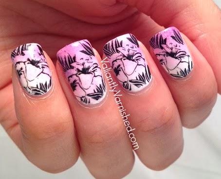 Stella McCartney Sheer Inspired Nail Art