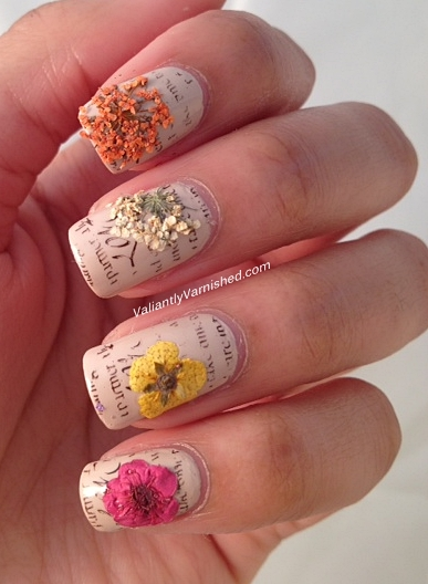3d nail art week and born pretty store review dried flowers the flowers come in a plastic wheel container with twelve colors and two types of flowers to choose from i personally prefer the small petals just for ease prinsesfo Gallery