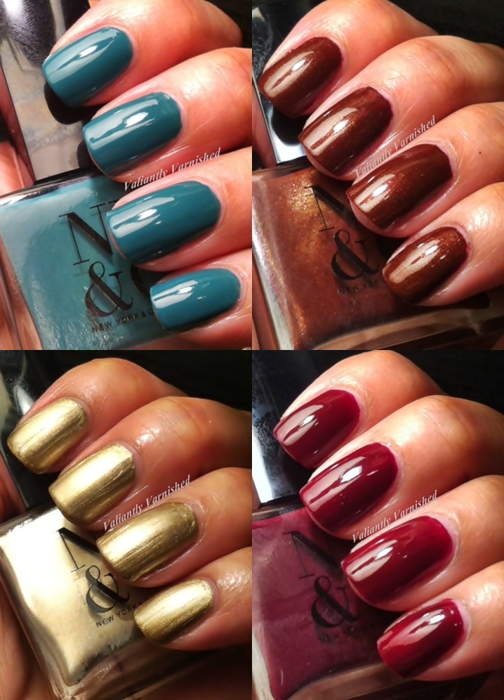 New York & Company Nail Color- Inverness,Saturn Sunset, Millionaire ...