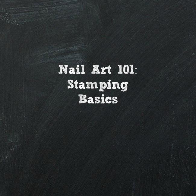 Nail art 101 week five stamping basics valiantly varnished nail art 101 stamping basics graphicg prinsesfo Images