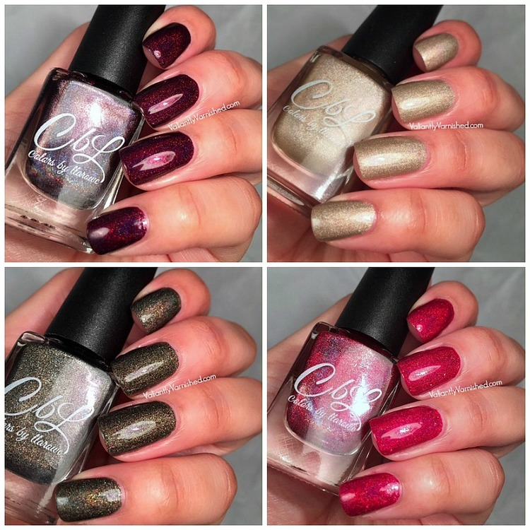 Colors by Llarowe Winter 2015 Partial Collection Swatches & Review ...