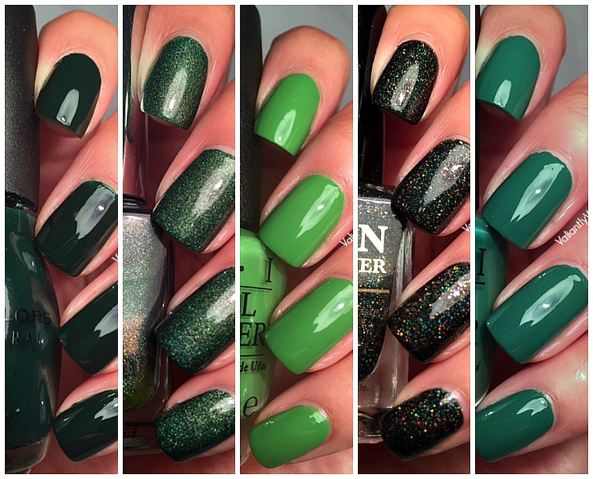 5 Great Green Polishes for St. Patrick\'s Day — Valiantly Varnished