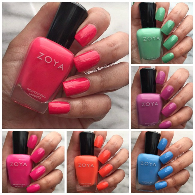 Zoya Sunsets Summer 2016 Collection - Swatches & Review — Valiantly ...
