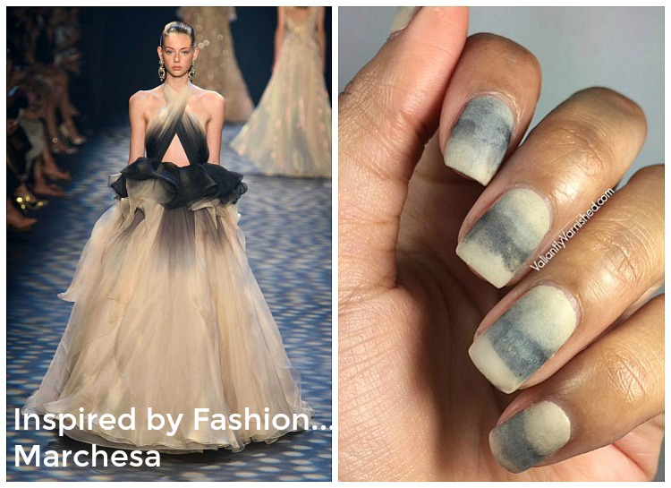 Inspired by Fashion...Marchesa Spring 2017 Nail Art — Valiantly ...
