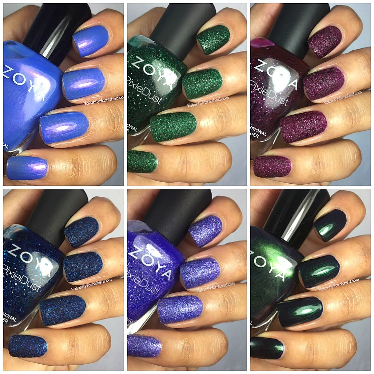 Zoya Enchanted Winter Holiday 2016 Collection - Swatches & Review ...