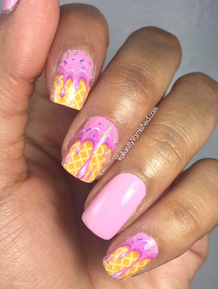 Quick And Easy Summer Nail Art Whats Up Nails Ice Cream Nail Decals