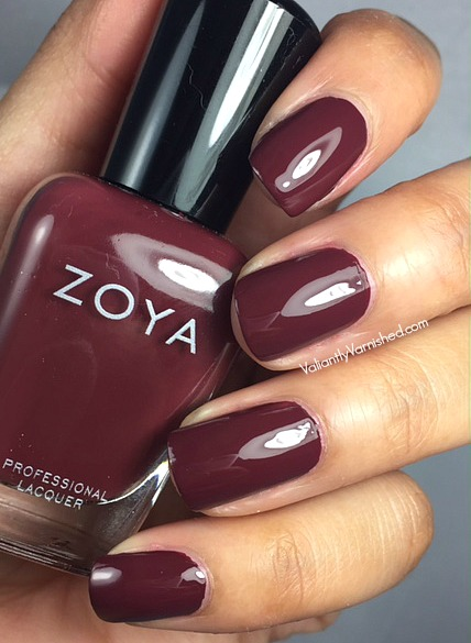 Zoya sophisticates fall 2017 collection swatches review zoya mona pic2g reheart Gallery