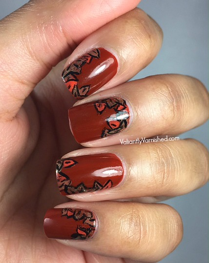 Fall-Nail-Art-Essie-Playing-Koi-Pic3