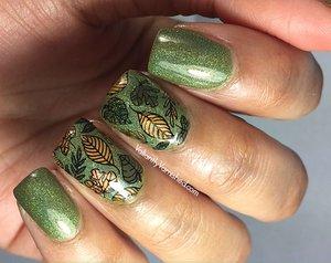 Fall leaves nail art polishcon 2017 valiantly varnished fall leaves nail art polishcon 2017 prinsesfo Choice Image
