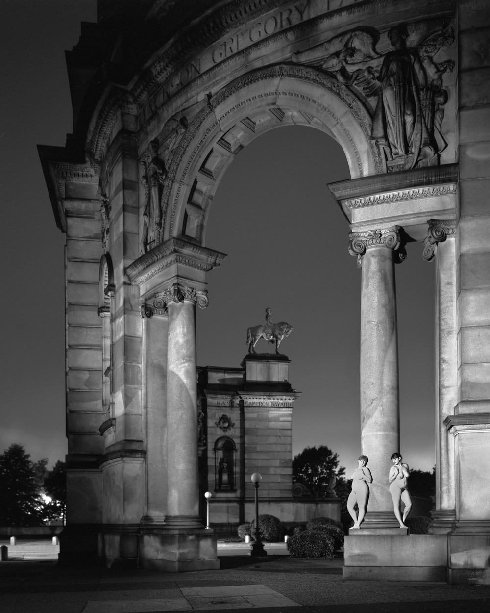MEMORIAL PARK ARCH, PHILADELPHIA