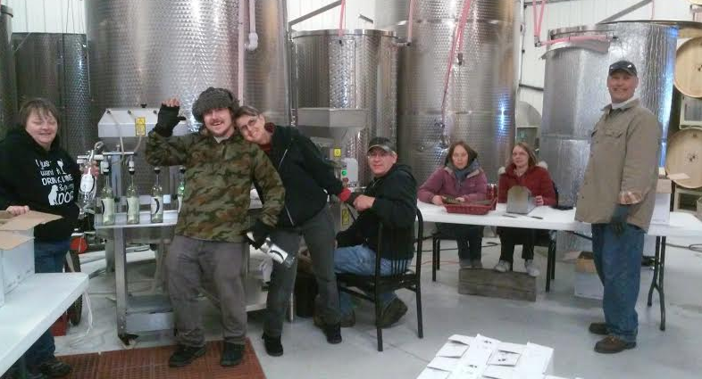 Thank you to all of our volunteers who helped this past Saturday bottle Schickelfritz!