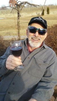 The Glass is Half Full. (Also nice sun glasses.)