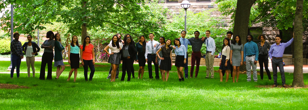 2017 DDCSP Scholars ready to hit the ground running this summer! Photo credit: Jaime Muñoz Velazquez