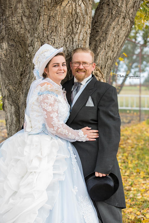 1800s Victorian Theme Lethbridge Wedding Lexi Randy Photo