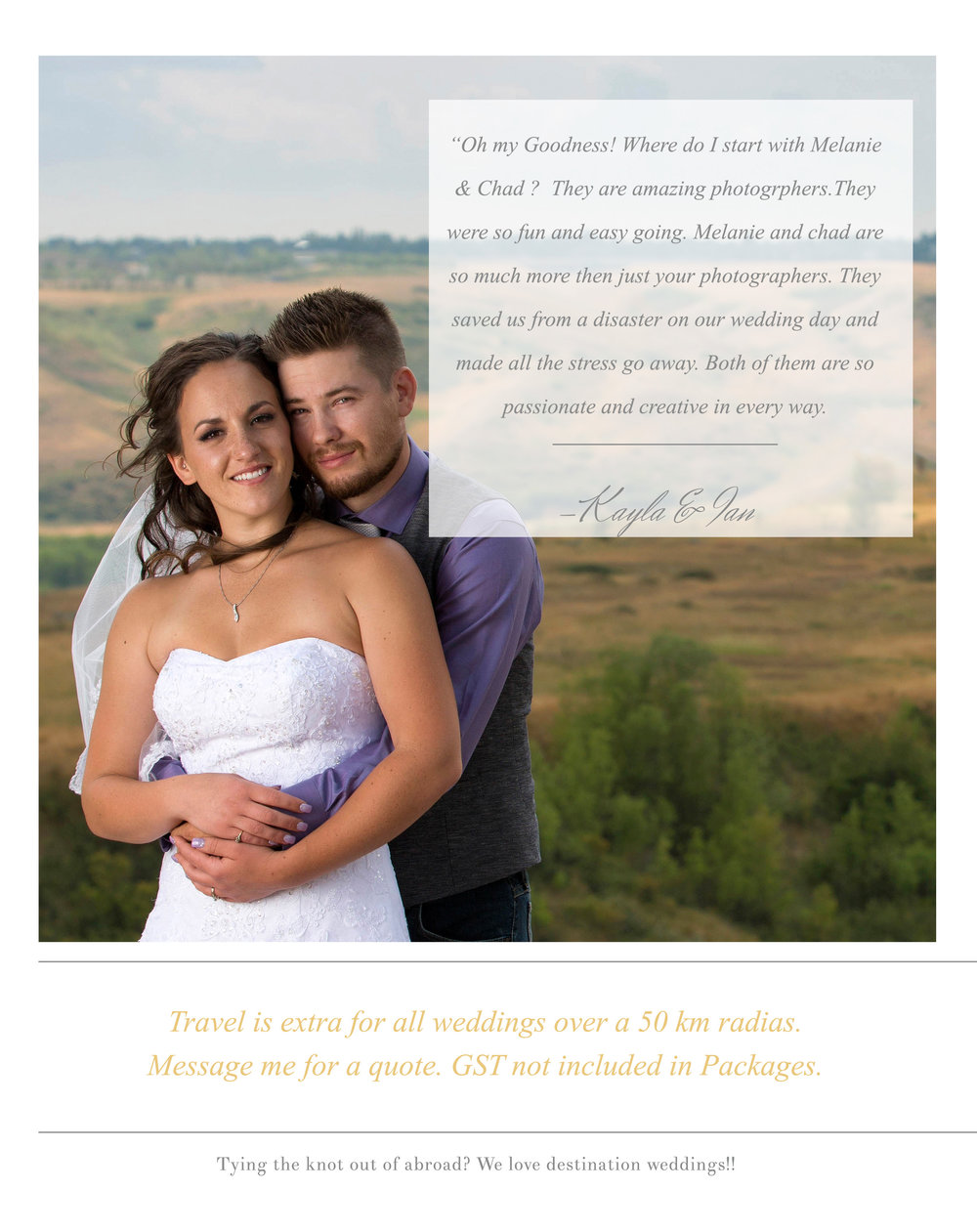 Lethbridge Photography Wedding Packages Photo Expressions