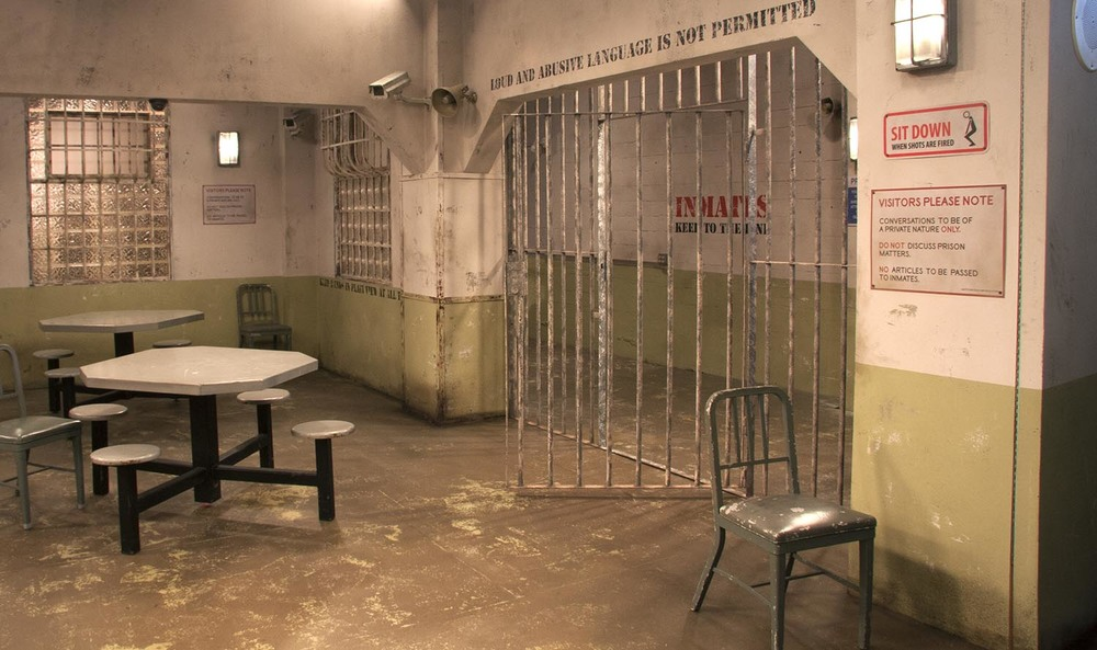 Prison Visiting Room — Set Design Shop