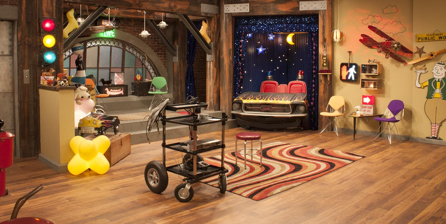 Icarly Studio Set Design Shop