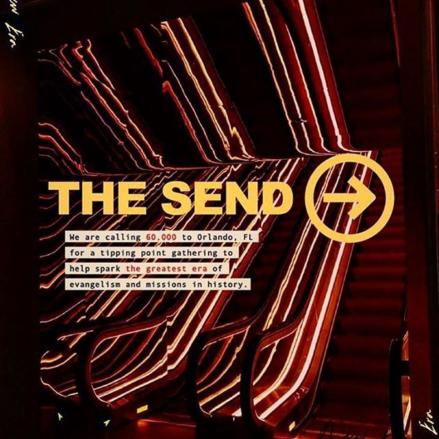 Who will be at the Send?! Comment below if you will be in Florida on Feb 23! It's going to be wild! Register at www.thesend.org #thesend #ywam #engagedts