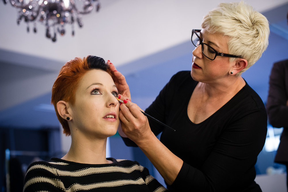 Meta Hildebrand und Jocelyne Krischker Hair Make Up Artist